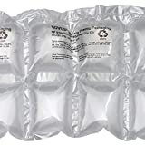 Mini Pak'r MINP67 Double Cushion Pillow Roll, 7'' Length x 6'' Width, 650' Overall Length, Clear