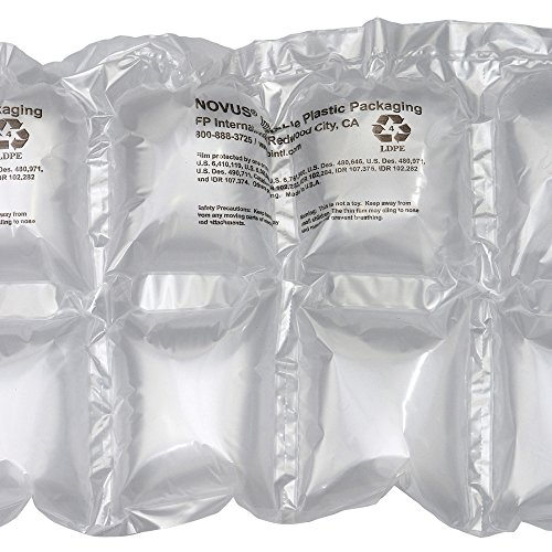 Mini Pak'r MINP67 Double Cushion Pillow Roll, 7'' Length x 6'' Width, 650' Overall Length, Clear by Mini Pakr