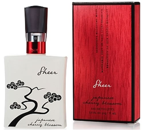 Cherry Mandarin Eau De Toilette - Bath & Body Works Sheer Japanese Cherry Blossom Limited Edition Eau de Toilette 2.5 fl oz