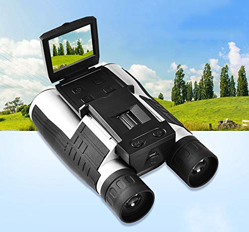 LFFCC Jumelles S608 HD Multi-Fonction télescope extérieur étanche caméra vidéo numérique, pour Les Adultes Voyage Observation des Oiseaux Chasse Voyager et Visiter  -