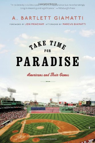 Download Take Time for Paradise: Americans and Their Games pdf epub