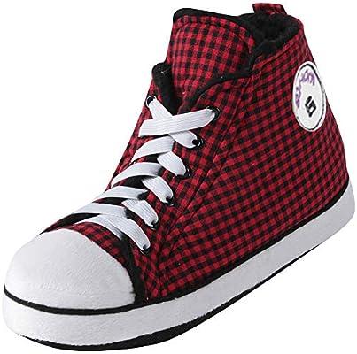 fa74c248291b Gohom Slipper Boots for Men Warm Winter Indoor Sneakers Slipper Home ...