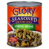 Glory Foods, Bean String W Potato Ssnng, 27 OZ (Pack of 12)