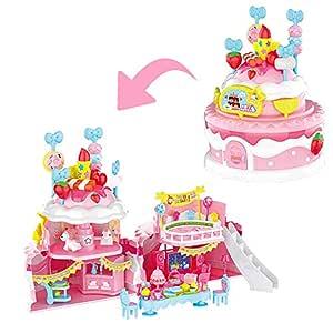 Amazon.es: deAO Casita de Muñecas Tarta de Cumpleaños ...