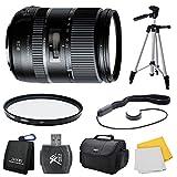 Tamron 28-300mm F/3.5-6.3 Di VC PZD Lens for Canon includes Bonus Xit 60'' Photo / Video Tripod and More