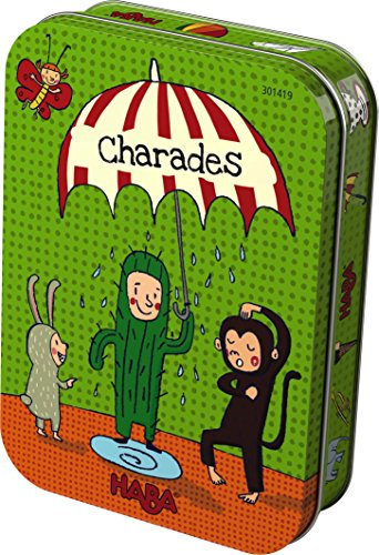(HABA Mini Charades Card Game in Tin (Made in Germany))