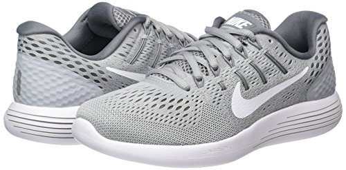 NIKE Women's Lunarglide 8 Running Shoe Wolf Grey/White Cool Grey 6.5