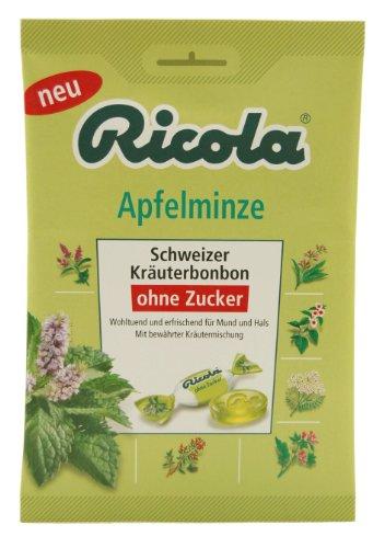 Ricola - Apfelminze Kräuterbonbon - 75g