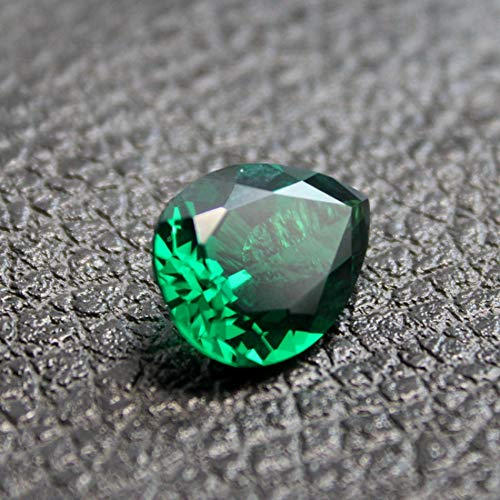 Emerald Pear Shaped Faceted Gemstone Teardrop Cut Emerald Gem Tsavorite Color Emerald Multiple Sizes to Choose C36E