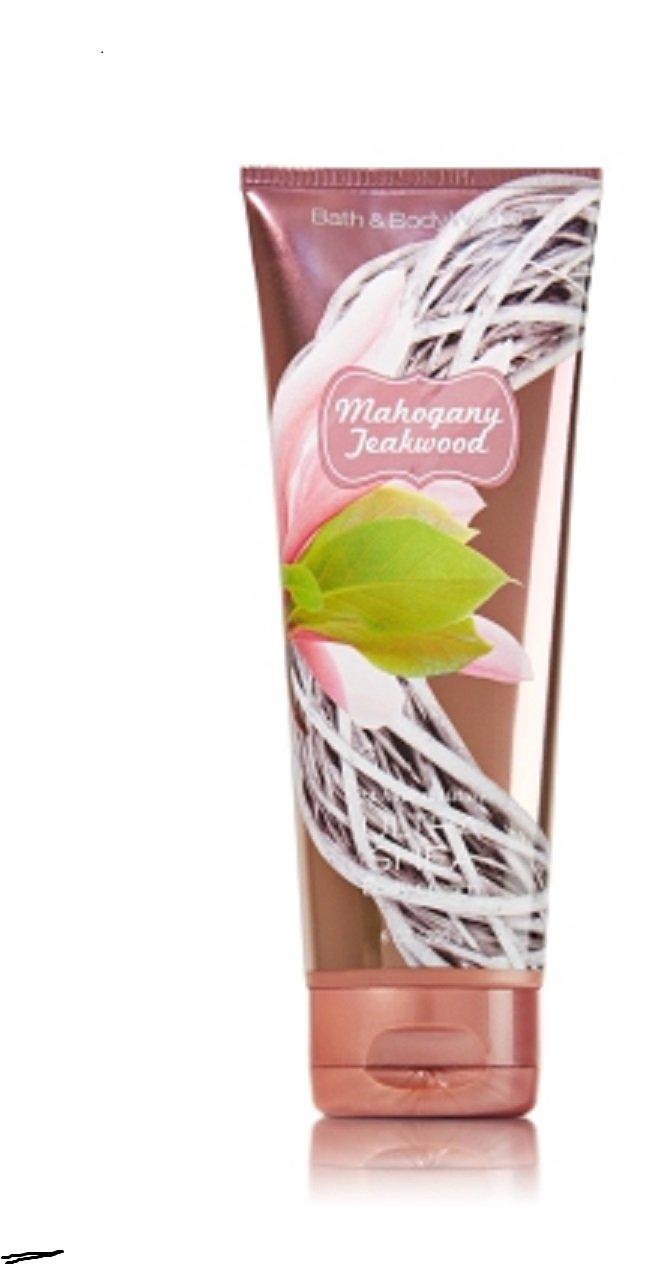 1 Bath & Body Works Mahogany Teakwood 24hr Ultra Shea Body Cream / Lotion by Bath & Body Works [並行輸入品] B00YUV28QE