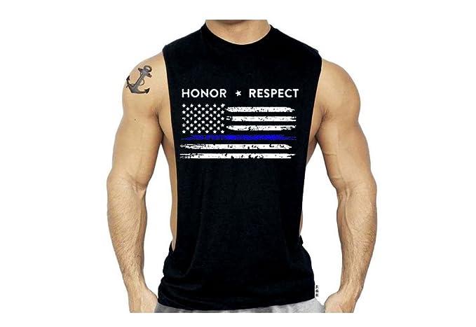 Amazon.com: SR para hombre delgada línea azul EE. UU ...
