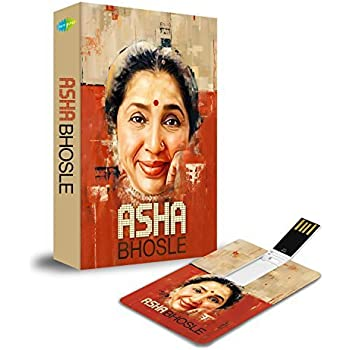 Music Card: Asha Bhosle - 320 Kbps Mp3 Audio 4 GB