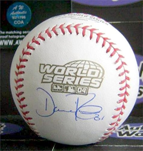 Dave Roberts autographed baseball 2004 World Series edition (OMLB Boston Red Sox LA Dodgers Manager) MLB Authentication Hologram AW Certificate (Baseball 2004 World Series Signed)