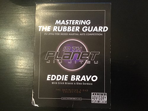 NEW EDDIE BRAVO MASTERING THE RUBBER GUARD DVD mma jiu jitsu ufc