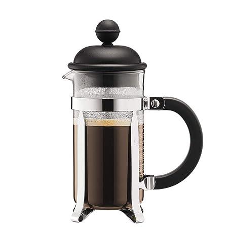 Jenify Cafetera de Prensa Francesa Vidrio 12 onzas, 35 litros (3 ...