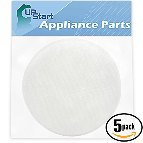 5-Pack Replacement Hoover TaskVac Commercial Cordless Lightweight Upright CH20110 Vacuum Foam Sponge Filter - Compatible Hoover 410044001, Linx Foam Filter (Lightweight Upright Replacement)