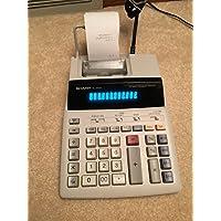 Sharp EL-1081P 2-Digit 2-Color Serial Printing Calculator