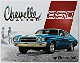 Poster Discount Chevelle Malibu - 350 Metal Tin Sign 16