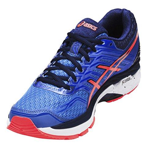 Asics Gt-2000 5, Zapatillas de Gimnasia para Mujer Azul (Regatta Blue/flash Coral/indigo Blue)