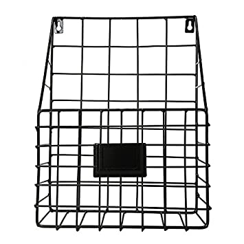 Wire Display Racks | Amazon Com Candyqueen 1pcs Hanging Wall Metal Wire Storage Display