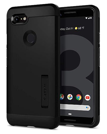 promo code c210f a326d Spigen Tough Armor Designed for Google Pixel 3 Case (2018) - Black