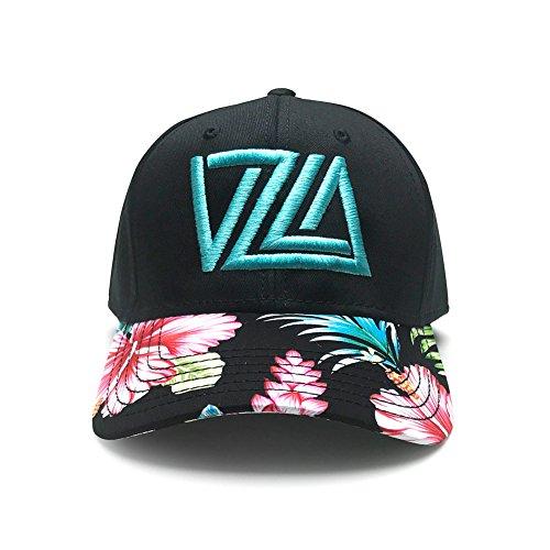 WUE Venezuela Snapback Baseball Cap VZLA design (Aloha Black)