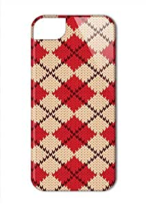 Case Fun Apple iPhone 5 / 5S Case - Vogue Version - 3D Full Wrap - Knitted Jumper
