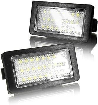 Led Kennzeichenbeleuchtung Canbus Module Mit E Zulassung V 030114 Auto