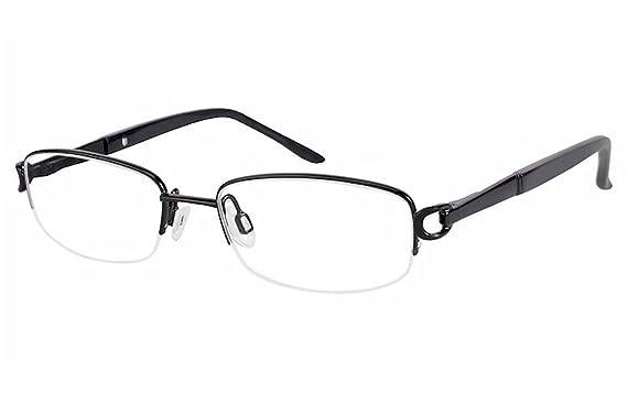Aristar By Charmant Eyeglasses AR16364 AR//16364 538 Black Optical Frame 46mm