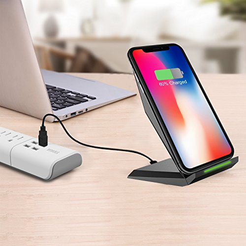 Amazon.com: Fast Wireless Charger Cell QI Fast Wireless Charging Pad ...