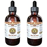 Photodermatitis Care Liquid Extract, Rhodiola (Rhodiola Rosea) Root, Astragalus (Astragalus Membranaceus) Root Tincture, Herbal Supplement, Hawaii Pharm, Made in USA, 2x4 fl.oz