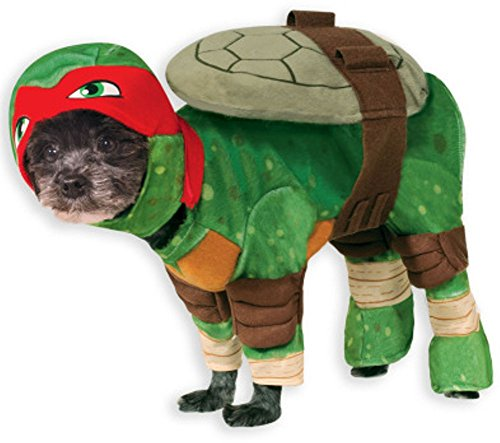 Teenage Mutant Ninja Turtle Dog Pet Pet Costume Raphael (Red) - X-Large