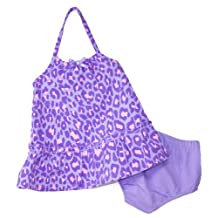 Faded Boutique® Baby Girls' Purple Leopard Sundress w/ Bloomers, Size: 3-6 months