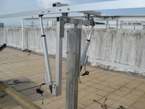 ECO-WORTHY Dual Axis Solar Tracking System: 12 Volt 6