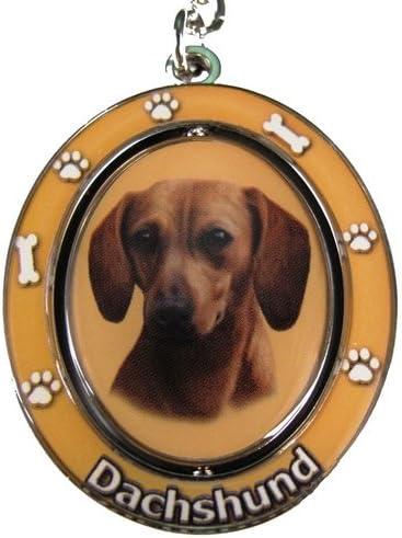 Dog Keychains Red Dachshund Llavero Spinning: Amazon.es: Zapatos y ...