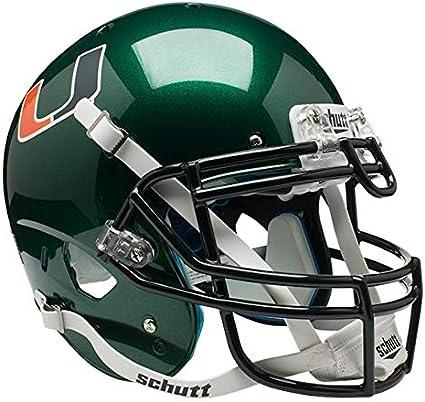 Schutt NCAA Miami Hurricanes Mini Authentic XP Football Helmet