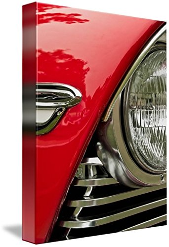 Imagekind Wall Art Print Entitled 1957 Plymouth Belvedere Convertible by James Howe | 7 x 10 (1957 Grille)