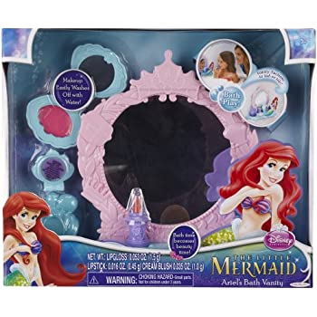 Amazon Com Disney Princess Ariel Little Mermaid Magical Talking Salon Amp Vanity Toys Amp Games