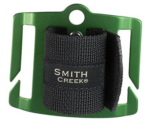 Smith Creek Net Holster, Belt-Mounted Landing Net Holder, Green Buckle (Best Trout Fishing In Pa)