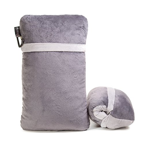 Compact Travel Pillow Made with Shredded Memory Foam and ...