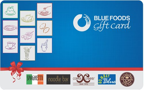 Get Flat 10% off at Checkout||Blue Foods Gift Card