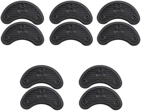 5ペア シューズ補修材 ハイヒール ソールヒール 先端 靴 ブーツ 修理 インソール 滑り止め