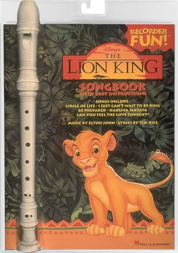 Hal Leonard The Lion King Recorder Fun Pack