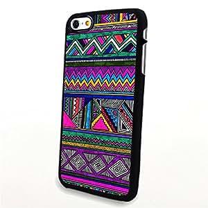 Generic Phone Accessories Matte Hard Plastic Phone Cases Colorful Aztec Anchor fit for Iphone 6 Plus