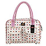 BETOP HOUSE Colorful Polka Dot Pet Dog Carrier Bag Portable Purse (Medium) (Medium)