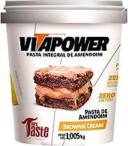 Pasta de Amendoim Sabores Gourmet (1,005Kg) - Sabor Brownie de Chocolate, Vita Power