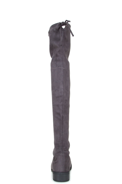 b990cd22b37 Forever Link Jalen-H4 Lady Boots Blk Gris
