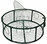 Promar Stainless Steel Mesh Crab Pot Rubber Wrap Rebar