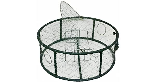 Amazon.com: Promar malla de acero inoxidable Crab Pot Rubber ...