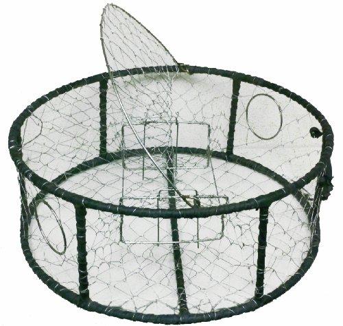 Promar Stainless Steel Mesh Crab Pot Rubber Wrap Rebar by Promar